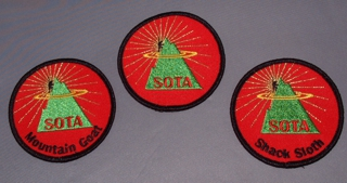 Embroidered SOTA Badge